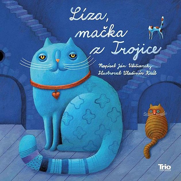 Líza, mačka z Trojice Obálka knihy