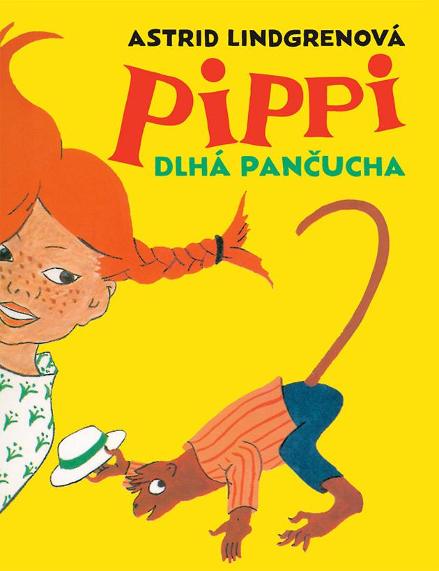 Pippi Dlhá pančucha Obálka knihy